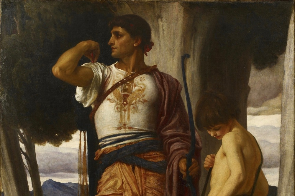 Frederic_Leighton_-_Jonathan_token_to_David_-_c.1868 (1).jpg