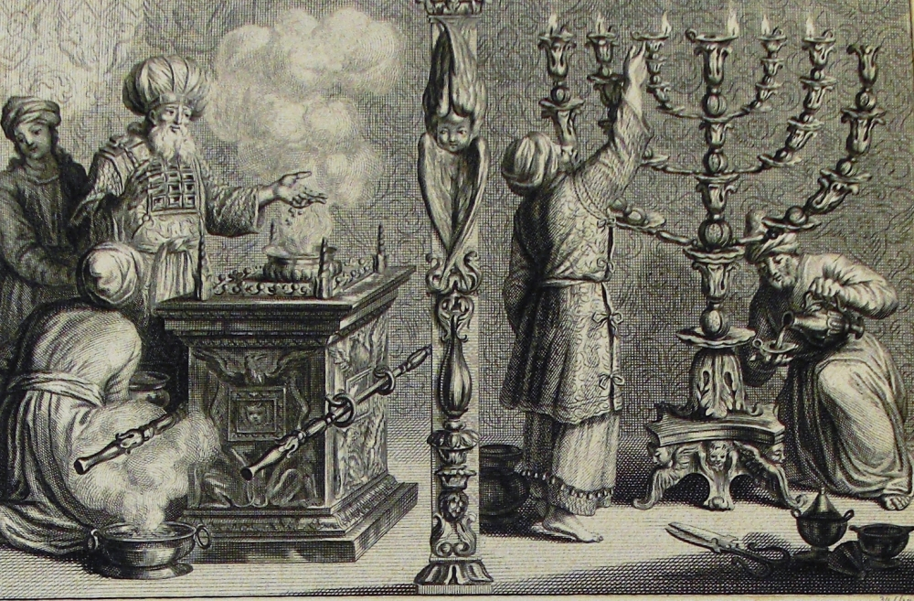 The_Phillip_Medhurst_Picture_Torah_478._The_candlesticks_and_altar_of_incense._Exodus_cap_39_vv_37-38._Mortier.jpg